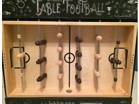 BRAND NEW UNOPENED - Wooden Table Football set