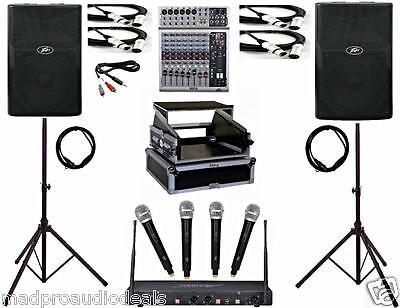 Professional karaoke equipment karaoke system dj Peavey speakers pro audio mixer