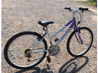 """Optima Storm lady's bike, 15"""" small frame, 18 gears, 26"""" wheels, mtb, discount available"""
