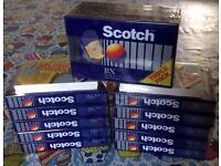 Scotch BX90 cassette tapes, new in packaging