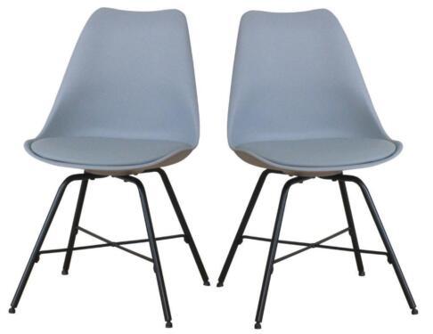 Neu 2x Esszimmerstuhl Kuchenstuhl Esszimmer Stuhle Stuhl Grau In
