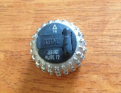Ibm Selectric Typewriter I Ii Type Ball 12 Triangle - Prestige Elite 72 Font