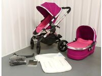 iCandy Peach 3 in FUCHSIA PINK !!! TRAVEL SYSTEM!!