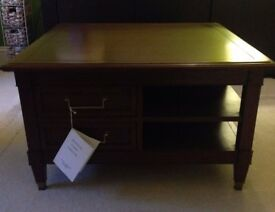 Laura Ashley Coffee Table Arlington Cherry Furniture. Brand New with Drawers