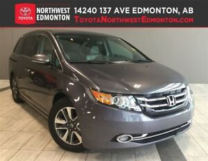 2016 Honda Odyssey Touring | Vacuum | Leather | DVD | Nav | Cool