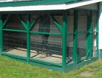 construction fencing / dog cage, metal for sale, metal a vendre
