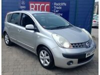 2007 (07 reg), Nissan Note 1.4 16v SE 5dr Hatchback, AA COVER & AU WARRANTY INCLUDED, £1,395 ono