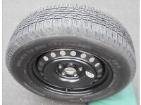 Nissan X-Trail Factory Supplied Spare Wheel & Tyre - Fits 2007 - 2014 T31