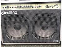 Carlsbro lead guitar amplifier 150w excellent