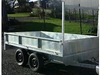 VERY CLEAN 9X5 GALVANISED DROPSIDES TRAILER