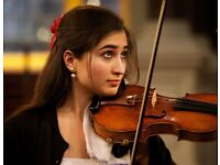 Violin lessons with professional, fun and friendly teacher!