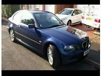 BMW 316ti 1.8. 12 Months MOT