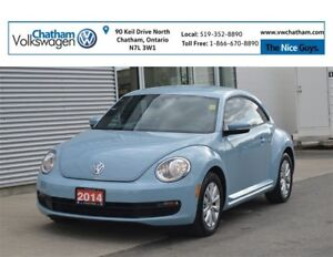2014 Volkswagen Beetle Coupe Comfortline Heated Seats Bluetooth