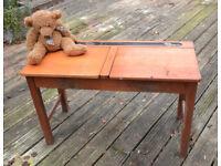 Vintage Chidrens school desk double