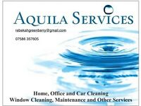 Cleaner Available for Domestic, Office or Shop Cleaning