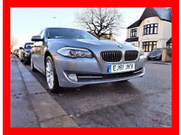 PCO --- 2011 BMW 5 Series 2.0 520d SE--- Diesel Auto --- Navigation --- Cream Leather --- BMW 520 d