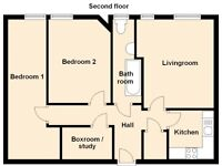 Lovely central 2 Bedroom flat - Haymarket Terrace