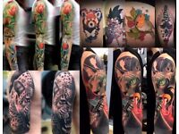 Custom tattoo studio open for business, top artists affordable prices!