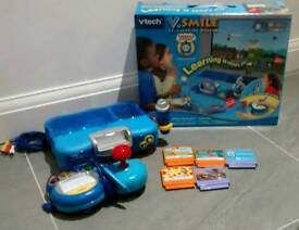 Vtech Vsmile TV Learning Console with Thomas the Tank Engine Game + extra games