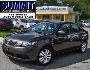 2013 Kia Forte EX | SUNROOF | BLUETOOTH | HEATED SEATS