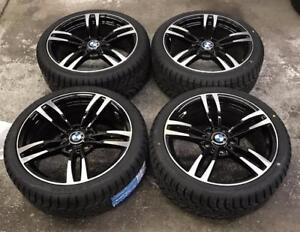 "18"" BMW Wheels 5x120 and Winter Tires 225/40R18 (BMW Cars) Calgary Alberta Preview"