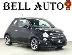 2016 Fiat 500 SPORT LEATHER POWER GROUP ALLOYS