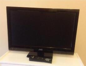 JVC 21 inch TV with remote control