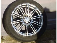 17 inch Ripspeed Alloys inc. Tyres - fits VW Golf/Jetta/Audi