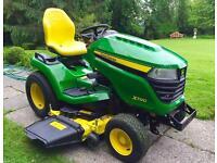 "John Deere X590 Ride on Mower - Brand New- 48"" Deck & Free Mulch Kit - Lawnmower"