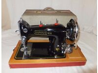ANTIQUE ELECTRIC SEWING MACHINE,EXCELLENT CONDITION FULLY WORKING WITH LIGHT
