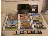 Nintendo DS lite with 15 games inc Mario Kart, Super Mario Bros , Super Mario 64