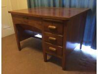 Vintage Typists Desk