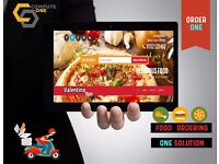 Website and mobile applications online food ordering solution. Takeaways, Restaurants