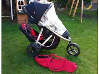 Phil & Ted's Vibe double buggy in excellent condition