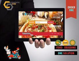 All in one package, food ordering online