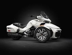 2016 can-am Spyder F3 Limited Edition SE6 / $82.34/week (120 mon