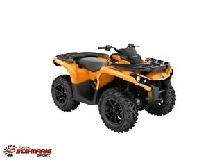 2018 can-am Outlander 650 DPS -