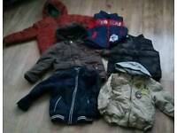 Boys coats & body warmers age 2-3 years