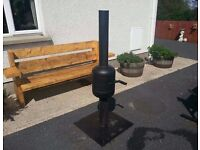 LOG BURNER PATIO HEATER STOVE FOR SWAP