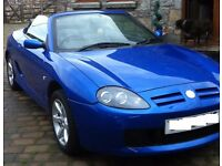 MG MGTF CONVERTIBLE LOW MILEAGE