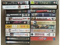 Assortment of 21 VHS tapes