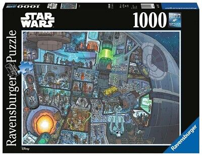 ravensburger 1000 piece jigsaw puzzle - Star Wars Wheres Wookie