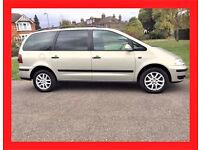 (7 Seater) --- 2010 Volkswagen Sharan 1.9 TDI PD SE --- DIESEL Automatic --- alternat4 galaxy previa