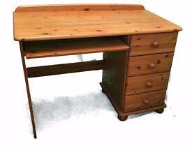clean wooden desk