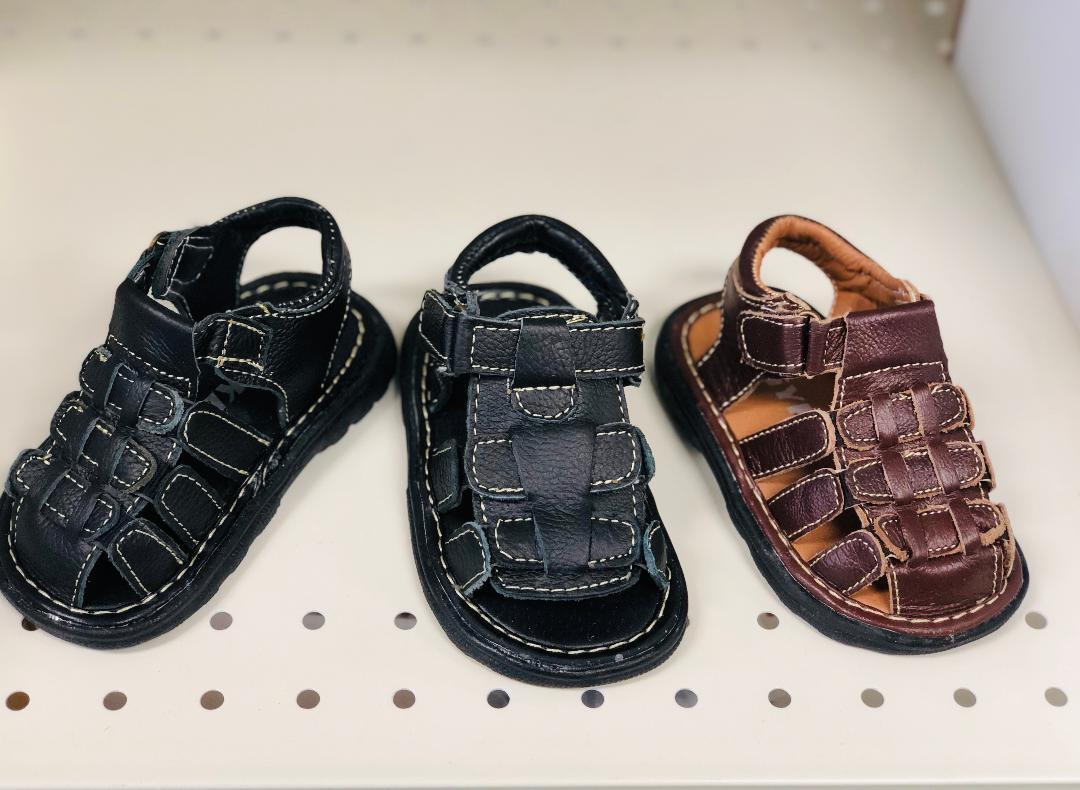New Strappy Gladiator Leather Sandals For Baby boys and Toddlers