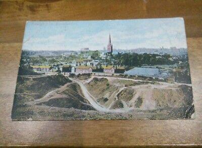 Jarrolds Series Postcard: Norwich from Mousehold