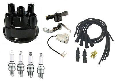 Complete Distributor Ignition Tune Up Kit Ih Farmall Tractor Prestolite W Tail