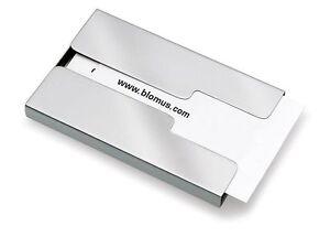 Blomus Sliding Stainless Steel Business Card Holder (Model: 68255)
