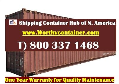 45 Hc Shipping Container 45ft Cargo Worthy Container In Jacksonville Fl