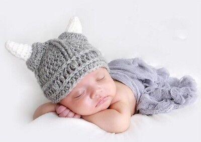 Fotoshooting Neugeborene Baby Kostüm Wikinger Fotografie Foto - Shooting - Baby Wikinger Kostüm